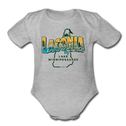 Laconia New Hampshire Infant One Piece - heather gray