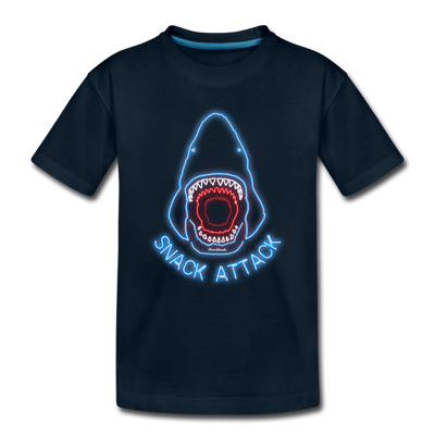 Snack Attack Toddler T-Shirt - deep navy
