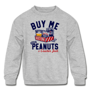 Buy Me Some Peanuts Youth Sweatshirt - heather gray