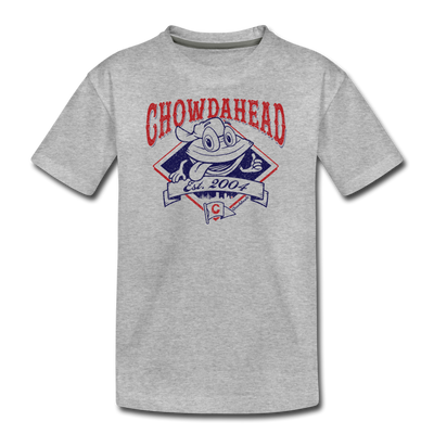 Chowdahead Classic Youth T-Shirt - heather gray