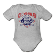 Chowdahead Classic Infant One Piece - heather gray