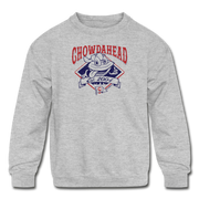 Chowdahead Classic Youth Sweatshirt - heather gray