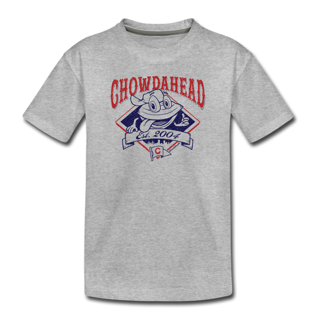 Chowdahead Classic Toddler T-Shirt - heather gray