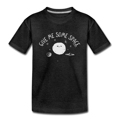 Give Me Some Space Toddler T-Shirt - charcoal gray
