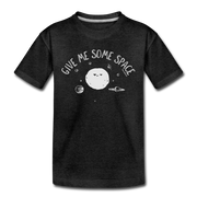 Give Me Some Space Youth T-Shirt - charcoal gray