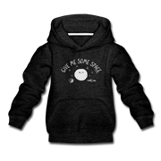 Give Me Some Space Youth Sweatshirt - charcoal gray