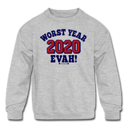 Worst Year Evah! Sweatshirt - heather gray