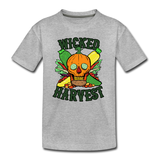 Wicked Harvest Toddler T-Shirt - heather gray