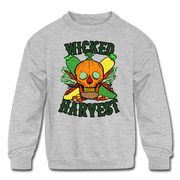 Wicked Harvest Youth Sweatshirt - heather gray