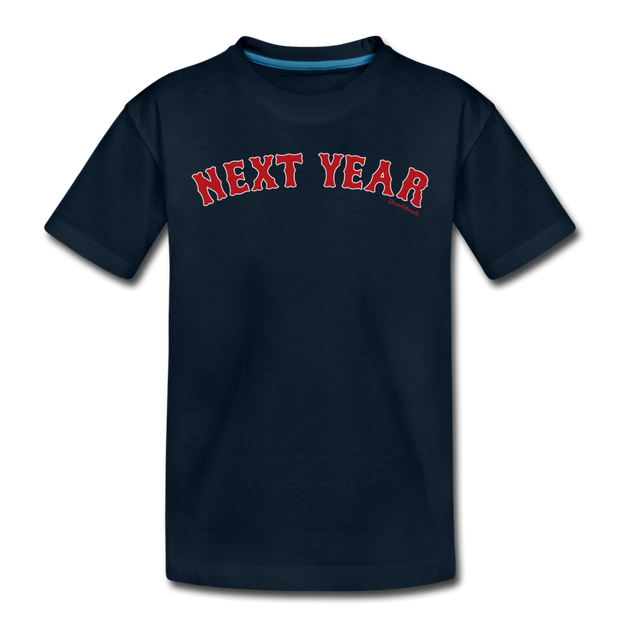 Next Year Toddler T-Shirt - deep navy