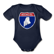 Maineiac Infant One Piece - dark navy