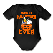 Worst Halloween Ever Infant One Piece - black