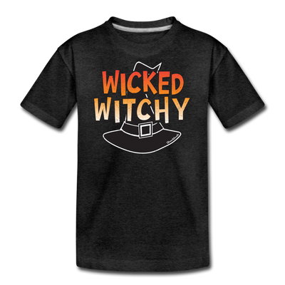 Wicked Witchy Youth T-Shirt - charcoal gray
