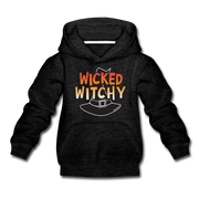 Wicked Witchy Youth Sweatshirt - charcoal gray