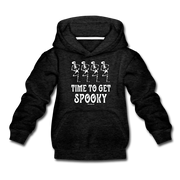 Time To Get Spooky Youth Sweatshirt - charcoal gray