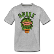 Smile Youth T-Shirt - heather gray