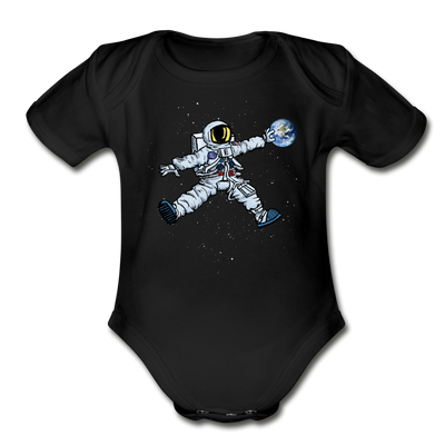 Space Jump Infant One Piece - black