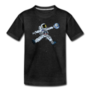 Space Jump Youth T-Shirt - charcoal gray