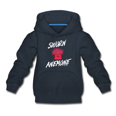 Sworn Anemone Youth Sweatshirt - navy