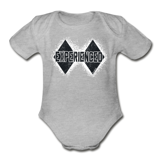 Experienced Infant One Piece - heather gray