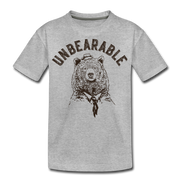 Unbearable Youth T-Shirt - heather gray