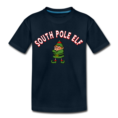 South Pole Elf Youth T-Shirt - deep navy