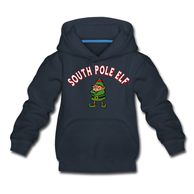 South Pole Elf Youth Sweatshirt - navy