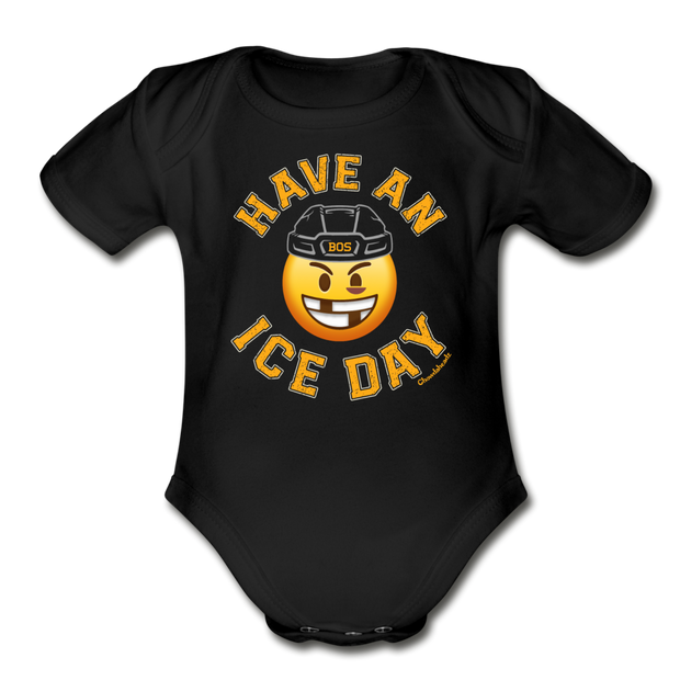 Have an Ice Day Infant One Piece - black