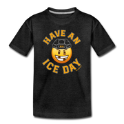 Have an Ice Day Youth T-Shirt - charcoal gray