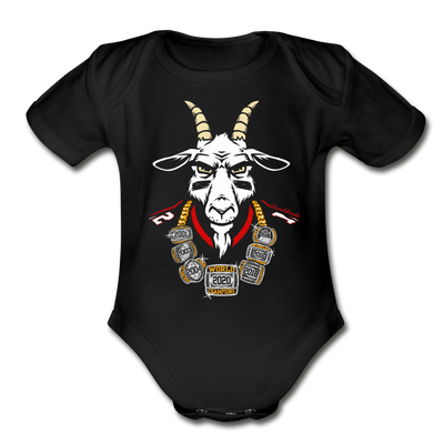 The GOAT 7 Ring Bling T-Shirt - black