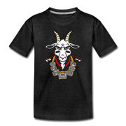 The GOAT 7 Ring Bling Youth T-Shirt - charcoal gray