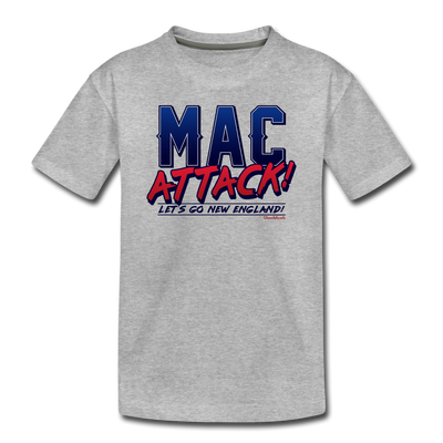 Mac Attack Toddler T-Shirt - heather gray