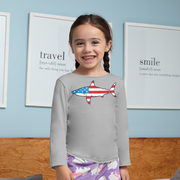Stars and Stripes Shark Youth Sweatshirt