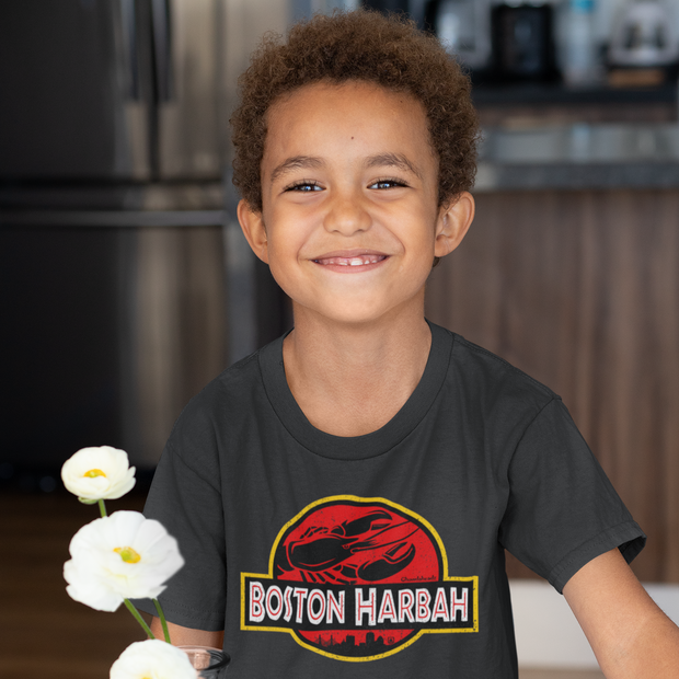 Boston Harbah Lobstah Youth T-Shirt