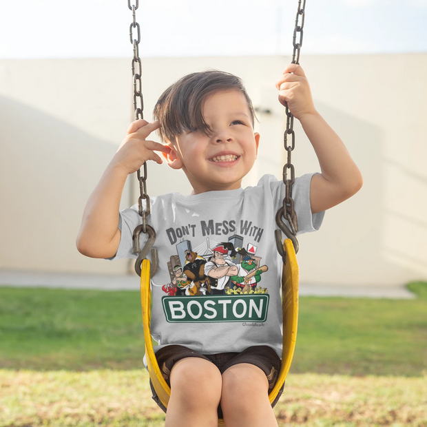 Don't Mess With Boston Youth T-Shirt