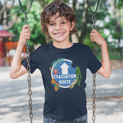 Evacuation Route Youth T-Shirt