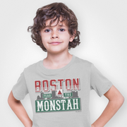 Boston Fear The Monstah Youth T-Shirt