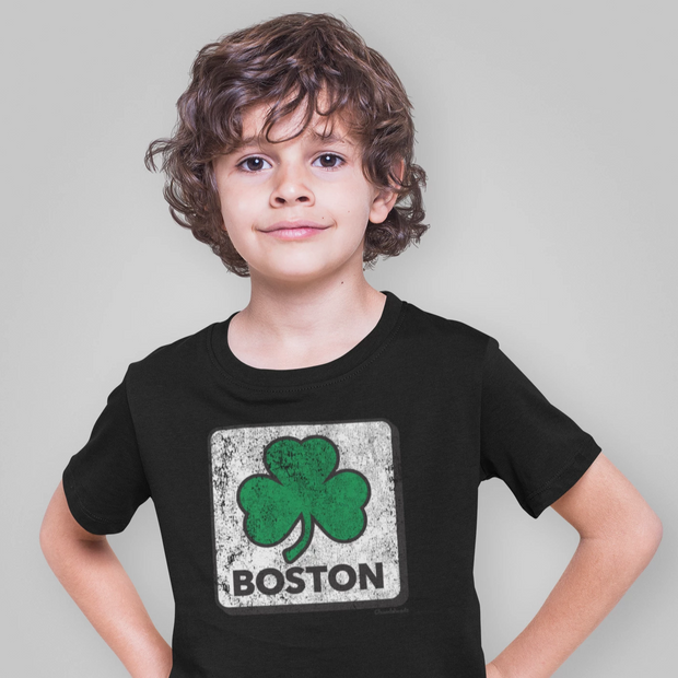 Boston Shamrock Youth T-Shirt