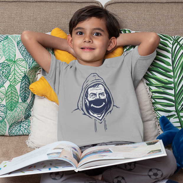 Belichick Smiley Mask Youth T-Shirt