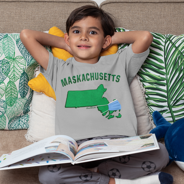 Maskachusetts Youth T-Shirt