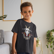 The GOAT 7 Ring Bling Youth T-Shirt