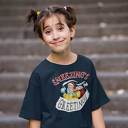 Sneezing's Greetings Youth T-shirt