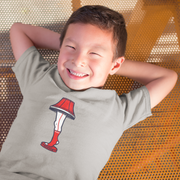 Boston Holiday Leg Lamp Toddler T-Shirt