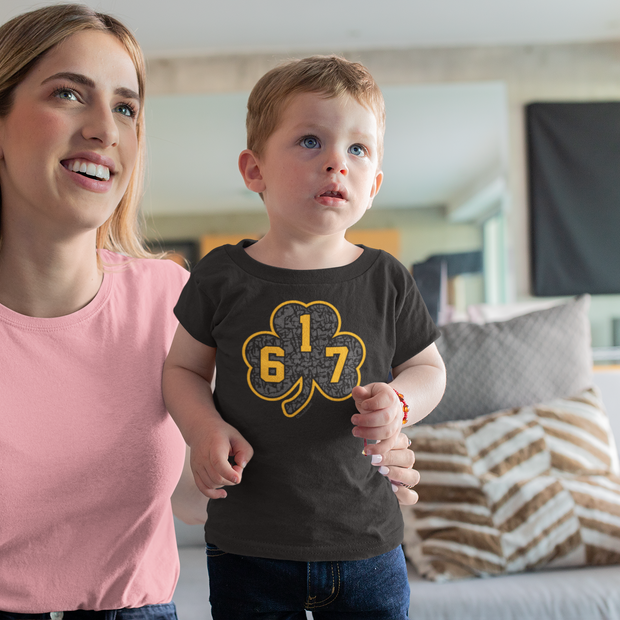 617 Black & Gold Street Shamrock Toddler T-Shirt