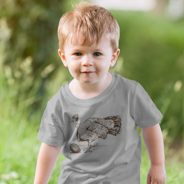 Turkey Football Toddler T-Shirt