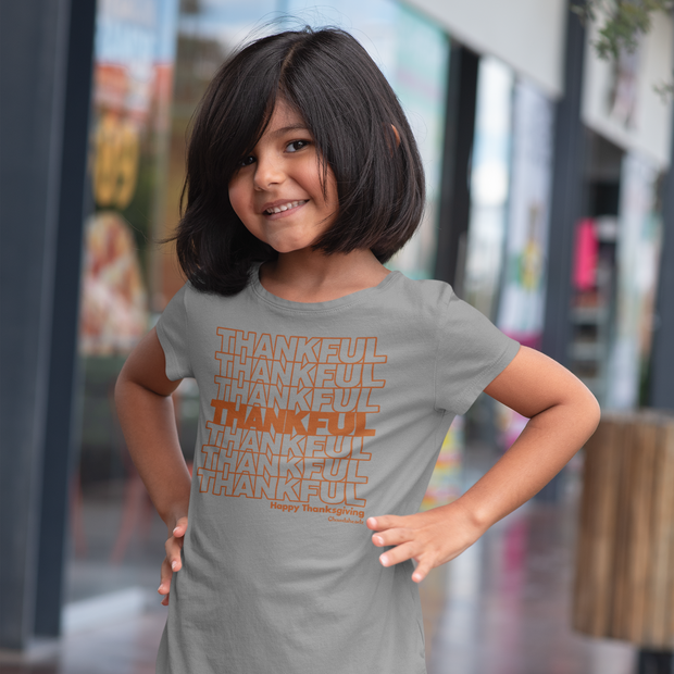 Thankful Repeat Thanksgiving Toddler T-Shirt