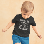 Oh What Fun It Is To Ride Toddler T-Shirt