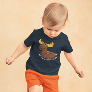 Moose Float Toddler T-Shirt