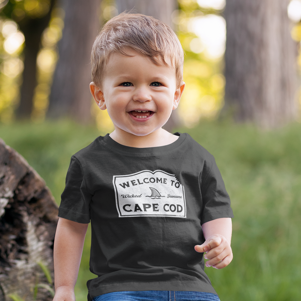 Welcome To Cape Cod Toddler T-Shirt