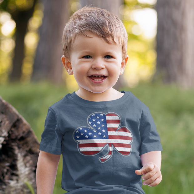 Shamrock Stars & Stripes Toddler T-Shirt